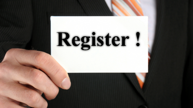 Registration of a company