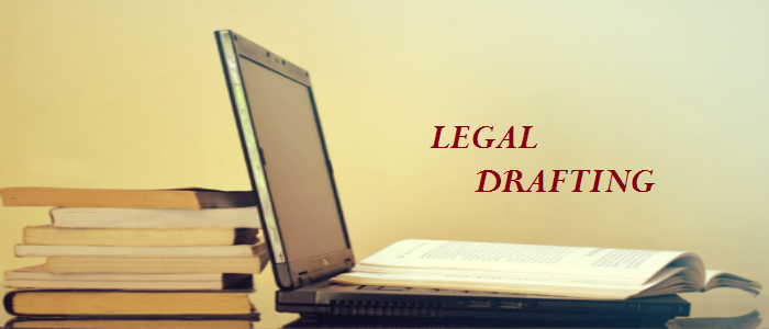 Drafting Legal Documents BLH - Drafting legal documents